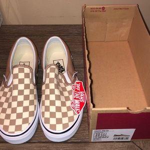 Vans Classic Checkered Slip-ons NEW IN BOX